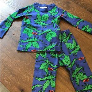 Hanna andersson sz 80 pajamas (2available!)